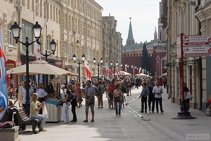 Moskova nüfusu