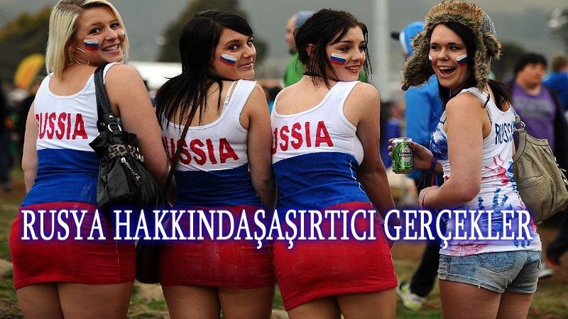 Rusya hakkında ilginç gerçekler