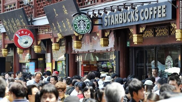 Starbucks Çin