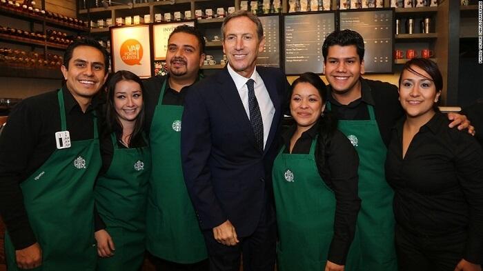 Starbucks çalışanları
