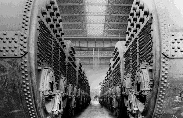 Titanik kazan daireleri