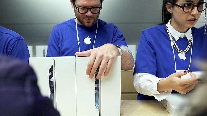 apple çalışanlarının maaşları