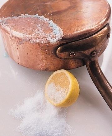 limon bakırı temizler
