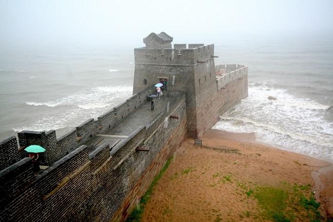 Çin Seddi'nin bittiği yer