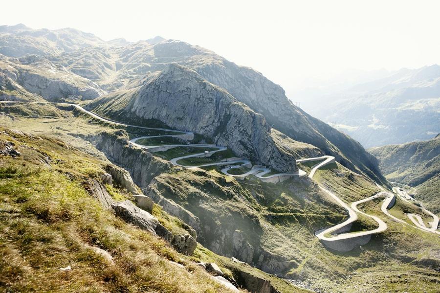 Gotthard Geçidi, İsviçre