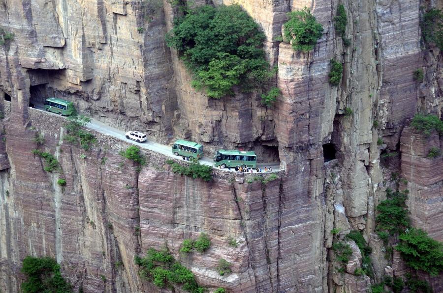 Guoliang Tüneli, Çin