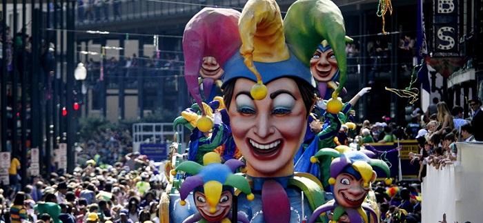 New Orleans Mardi Gras Karnavalı