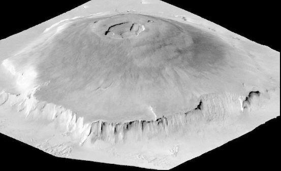 Olympus Mons (Güneş Sisteminin En Büyük Yanardağı)