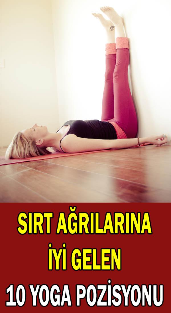 Sırt ağrıları için yoga egzersizleri
