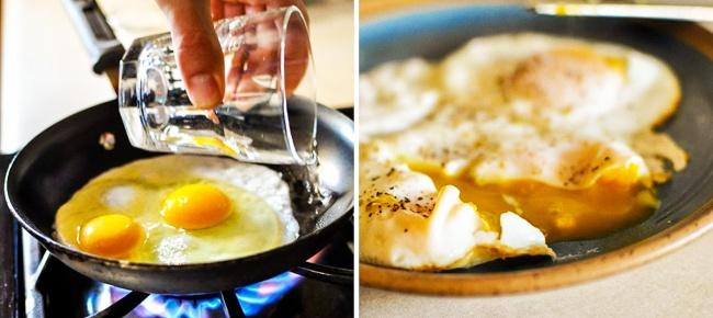 Tavada yumurta