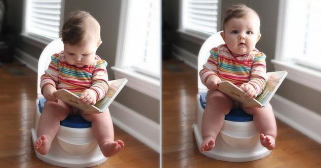 Çocuk hızlı tuvalet eğitimi