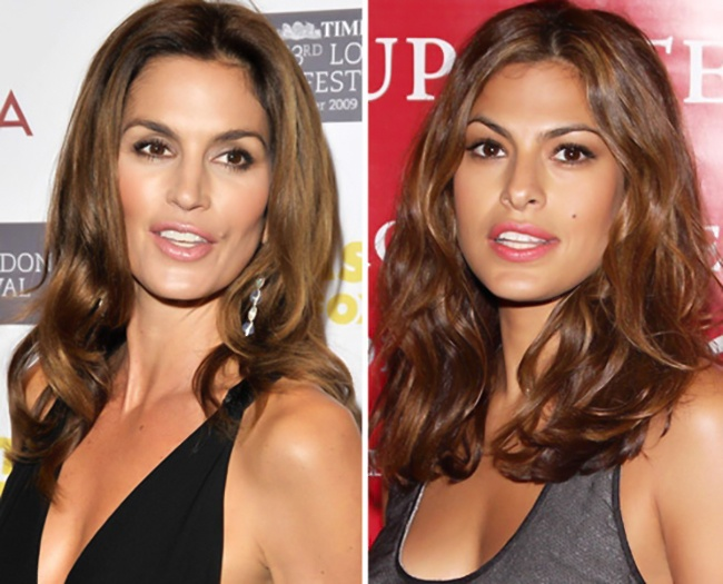 Cindy Crawford ve Eva Mendes