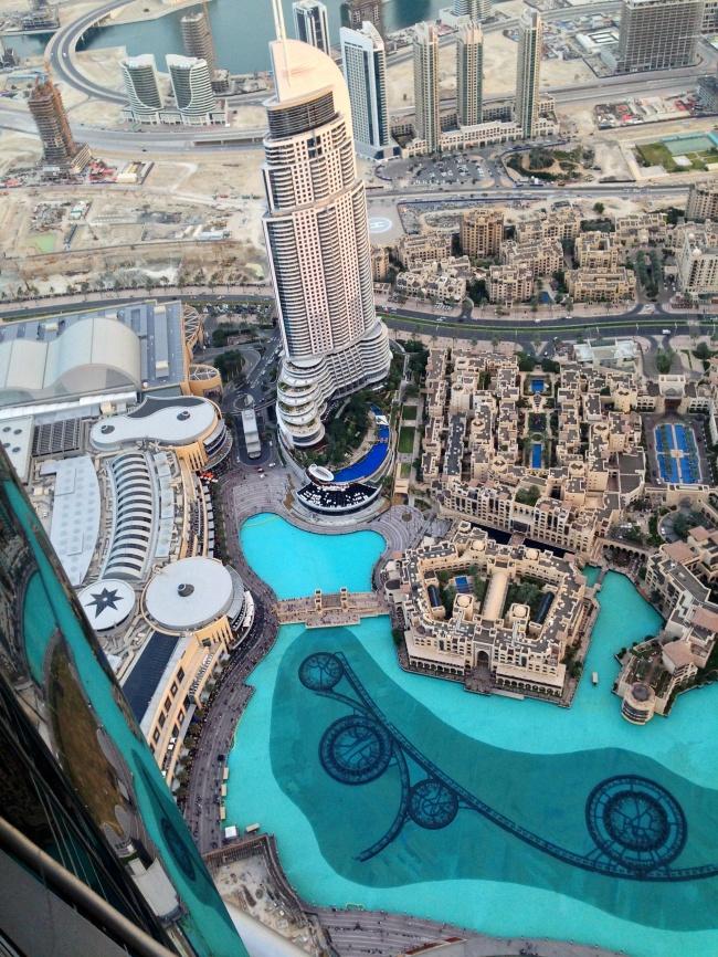 Dubai havadan görünüm