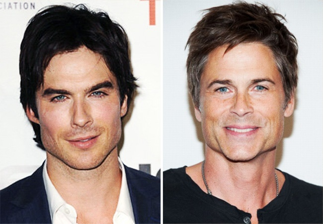 Ian Somerhalder ve Rob Lowe