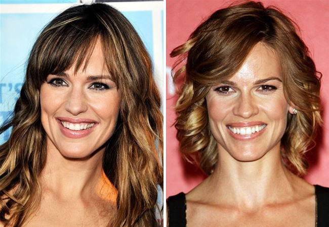 Jennifer Garner ve Hilary Swank