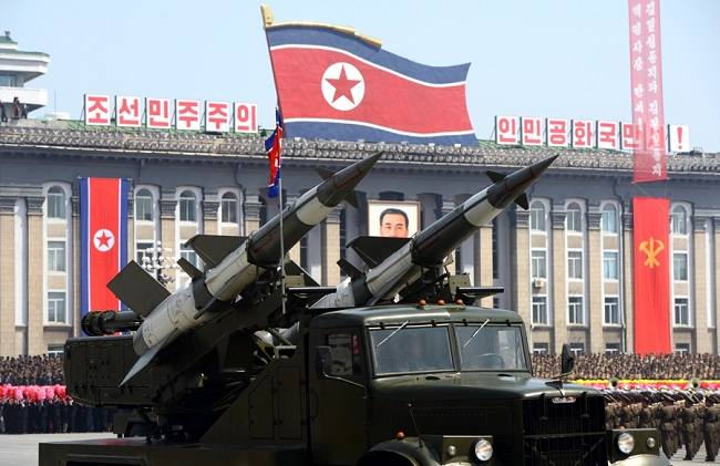 Kuzey Kore füzesi