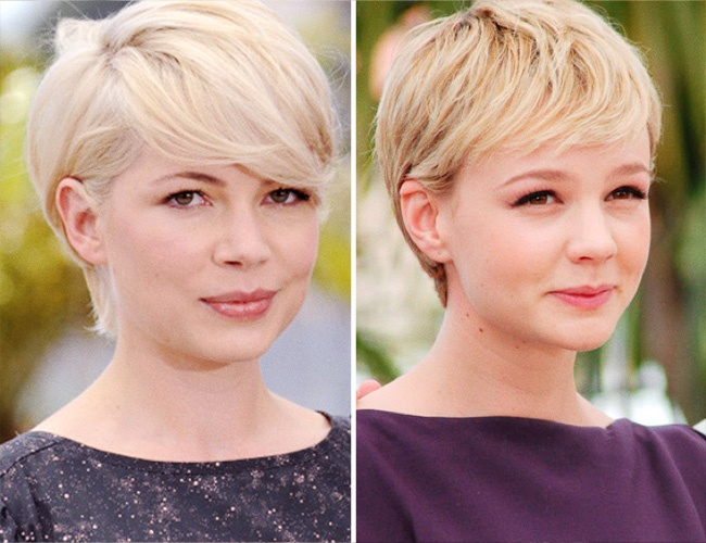 Michelle Williams ve Carey Mulligan
