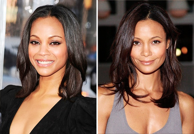 Zoe Saldana ve Thandie Newton