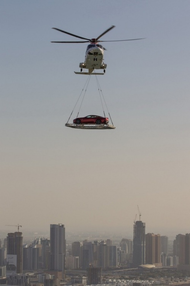 helikopterle araba taşıma