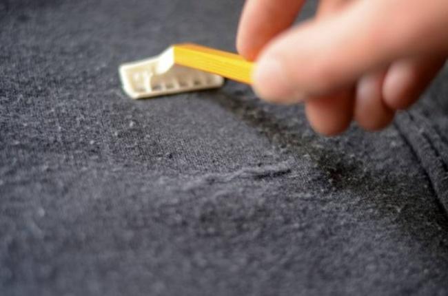 kazaktaki tüylenme nasıl temizlenir