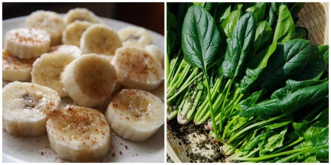 potasyum açısından zengin gıdalar