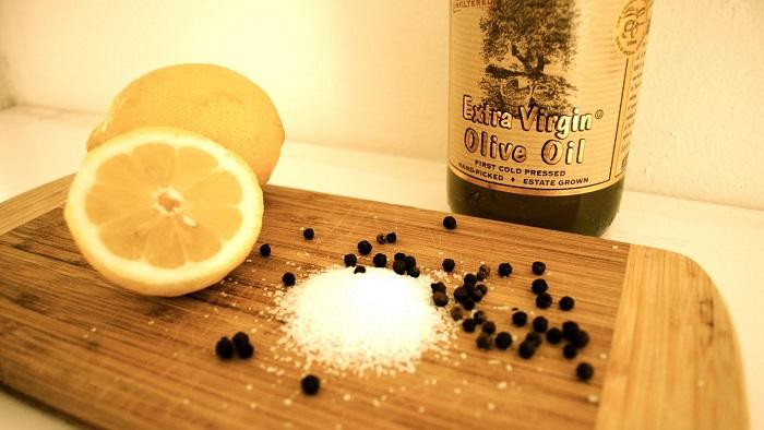 tuz karabiber ve limon karışımı