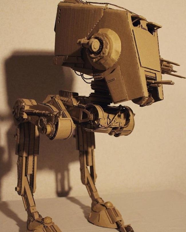 3 boyutlu robot