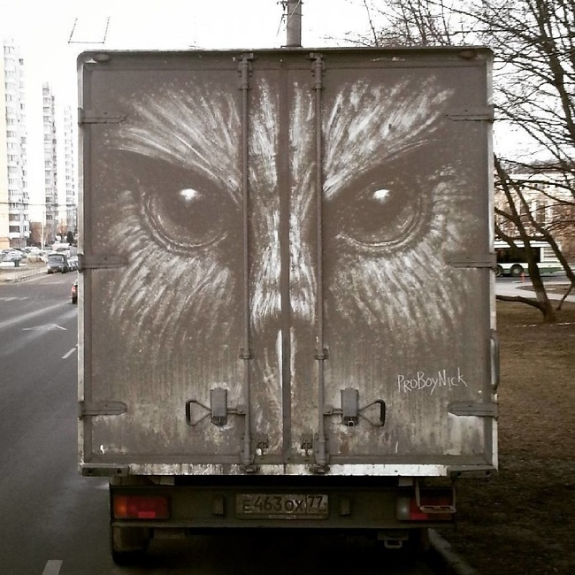 Kirli Otomobil Sanatı
