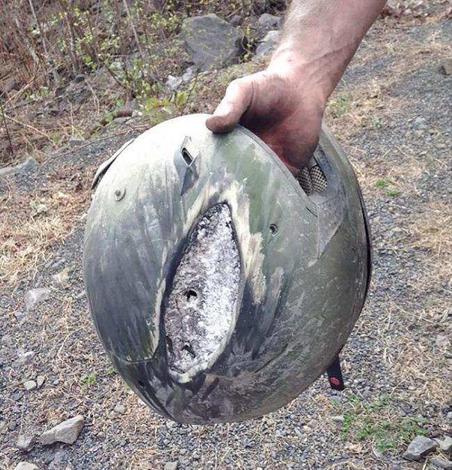 kaza sonrası kask