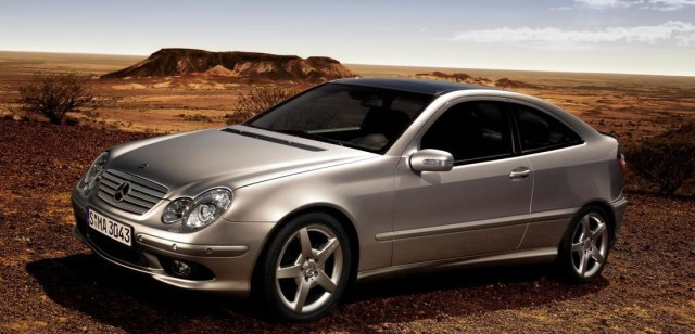 Mercedes-benz C class sports coupe