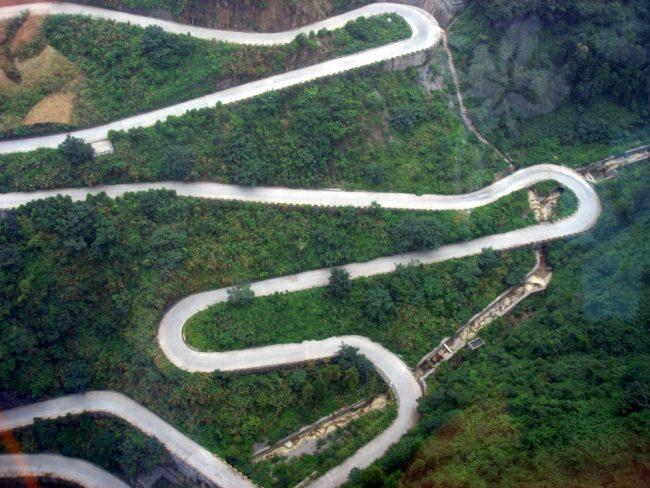 Tianmen dağ yolu