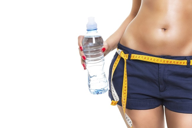 su ile kilo vermek