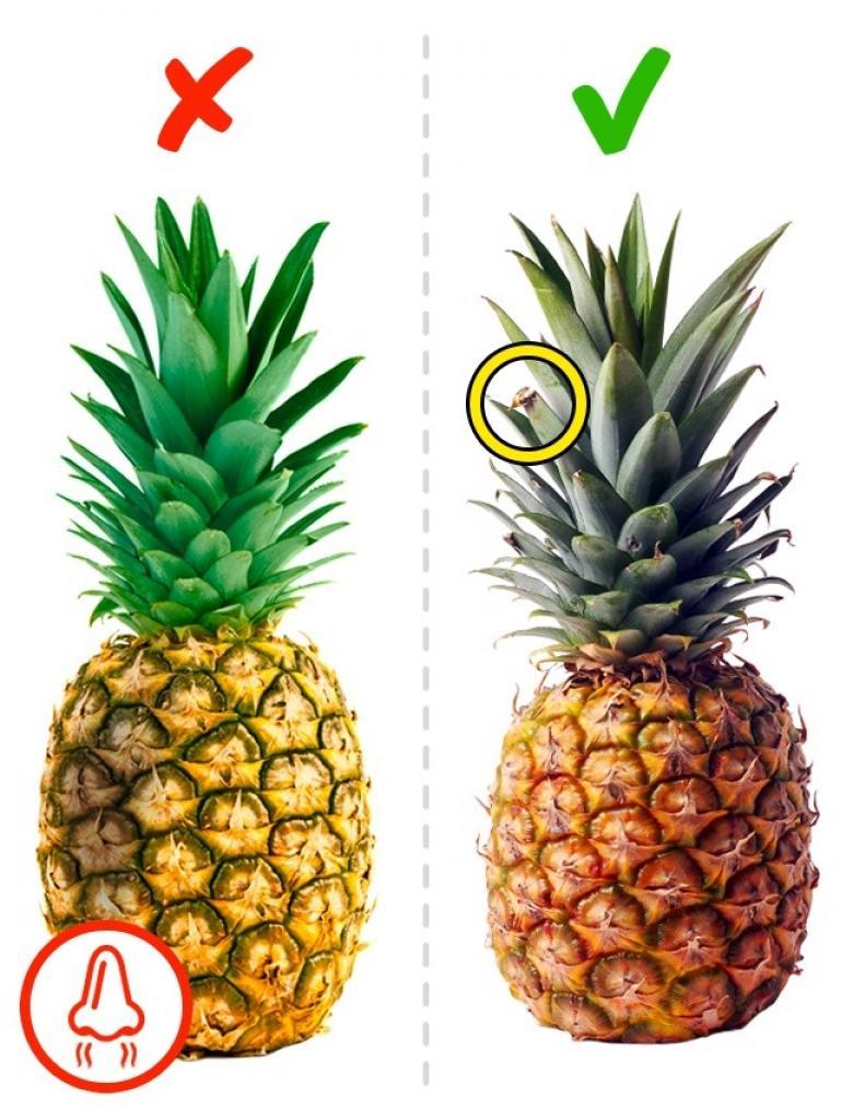 Ananas nasıl seçilir
