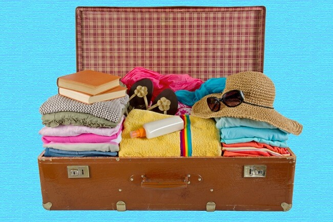 erkek için tatil valizi