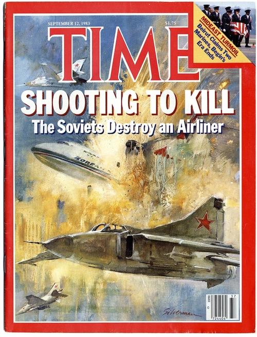 Rusya'nın Kore Uçağını Vurması