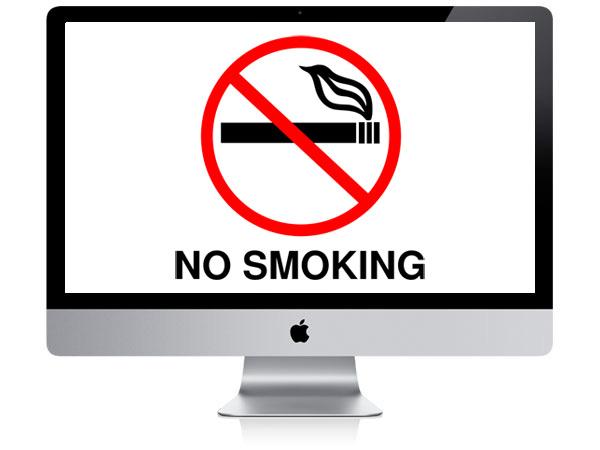 Apple sigaraya karşı