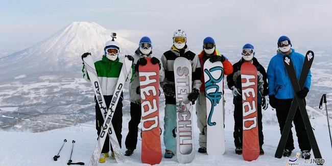 Japonya kış sporları