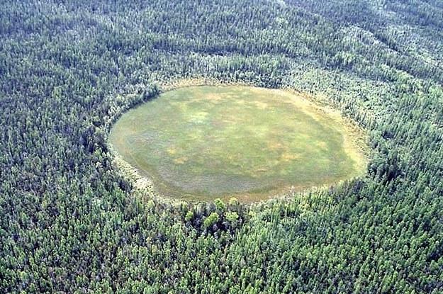 Sibirya'ya düşen asteroit