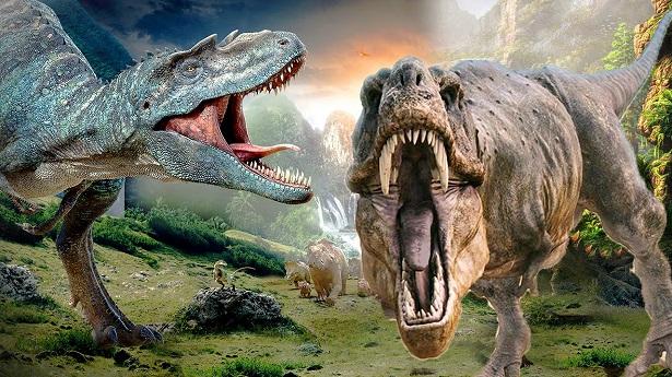 65 milyon yıl önce yaşayan dinozorlar