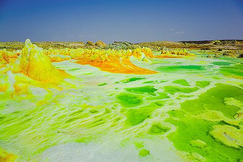 Danakil çölü
