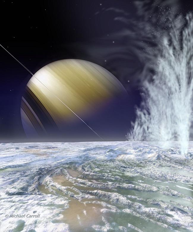 Enceladus buz volkanları