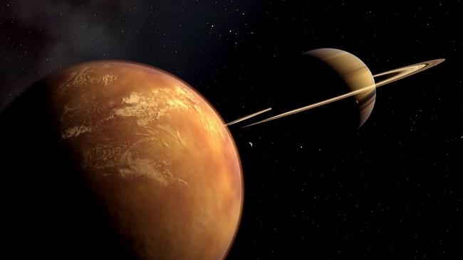 Satürn'ün uydusu Titan