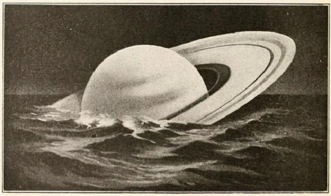 Satürn yüzebilir