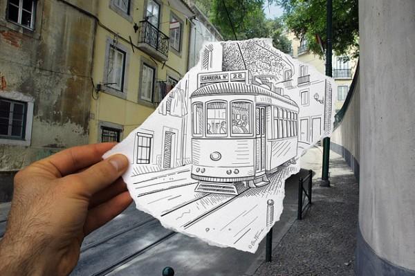 Sokaktaki Tren