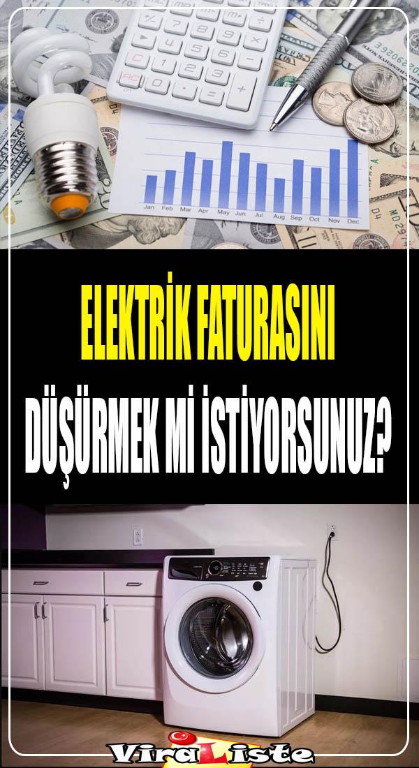 elektrik faturasını düşürmek