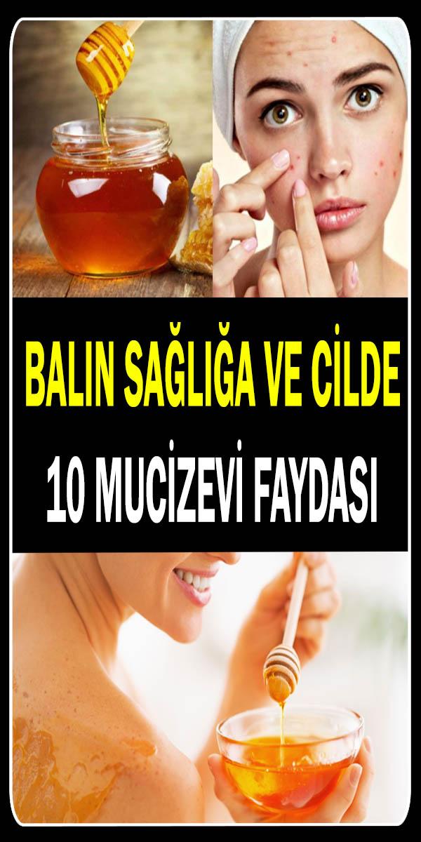 Balın sağlığa ve cilde faydaları