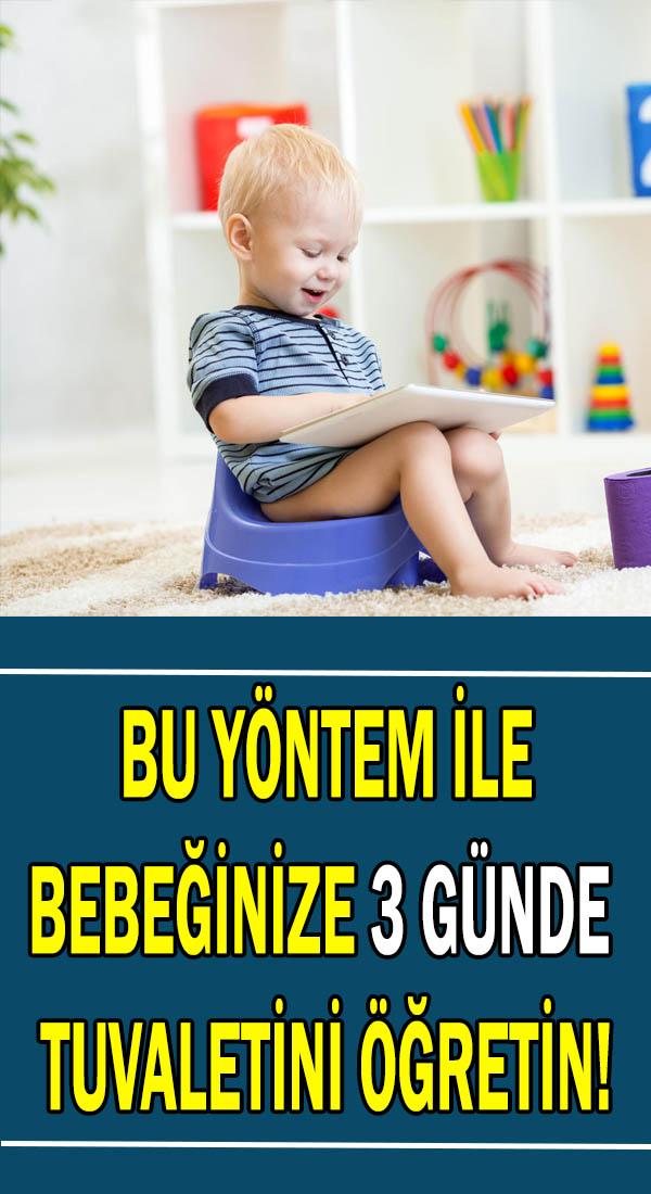 Bebek tuvalet eğitimi