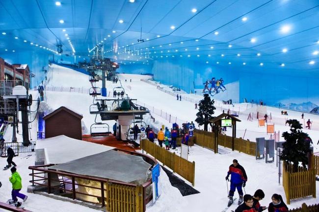 Dubai yapay kayak merkezi