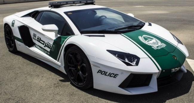 Ferrari polis arabası