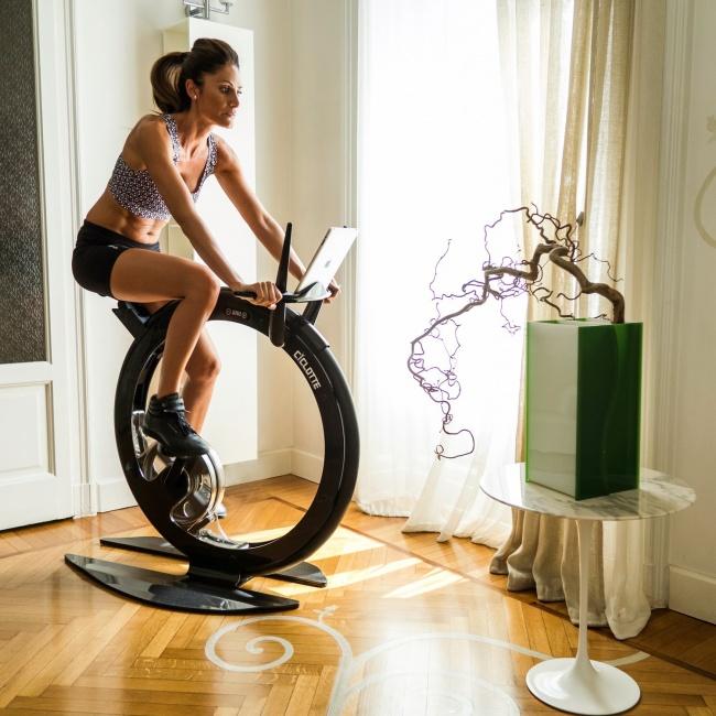 Geleceğin egzersiz bisikleti